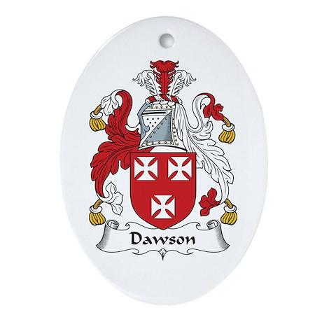 Dawson Oval Ornament