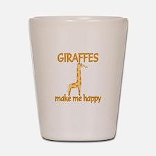 Giraffe Happy Shot Glass