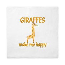 Giraffe Happy Queen Duvet