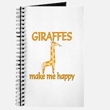 Giraffe Happy Journal