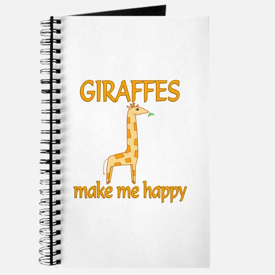 Giraffe Happy Journal