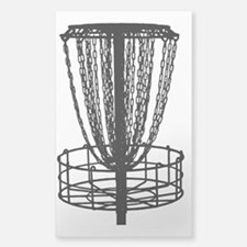 Zen Disc Golf Basket (Birdshot Sticker (Rectangle)