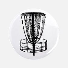 "Zen Disc Golf Basket (Birdshot) 3.5"" Button"