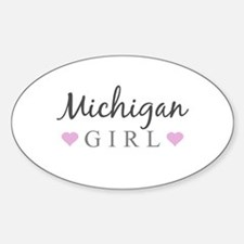 Michigan Girl Decal