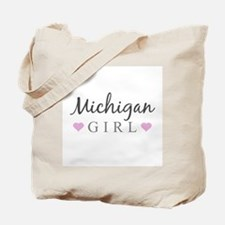 Michigan Girl Tote Bag