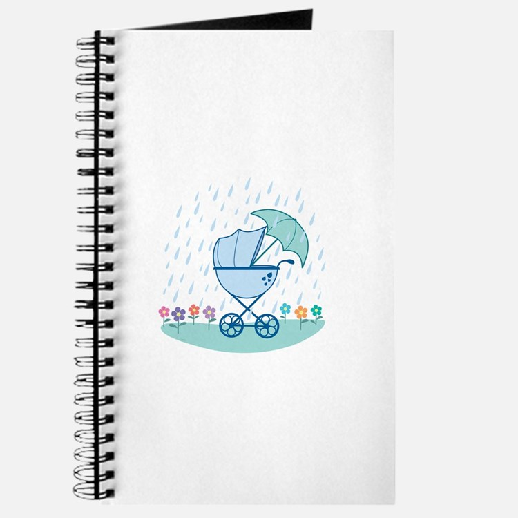 Cute Baby carriage Journal