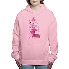 Firearms Girls Best Friend Women's Hooded Sweatshi