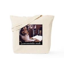 Smart Sheltie Tote Bag
