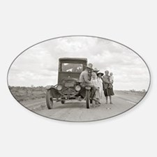 On The Road, 1937 Decal