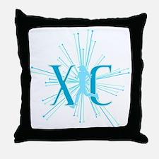 XC Starburst Throw Pillow
