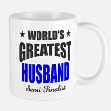 Greatest Husband Semi-Finalist Mug