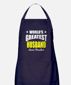 Greatest Husband Semi-Finalist Apron (dark)