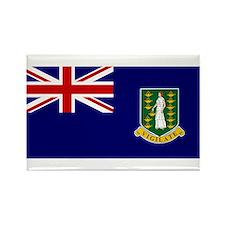The British Virgin Islands Flag Rectangle Magnet
