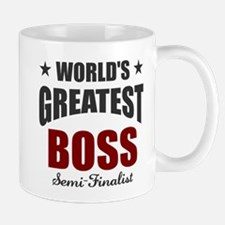 Greatest Boss Semi-Finalist Mug