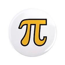"Yellow Pi symbol 3.5"" Button"