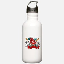 The Bitter End by CMVernon Water Bottle