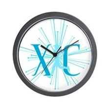 Unique Cross country running Wall Clock