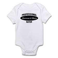 Pro Macaroni & Cheese eater Infant Bodysuit