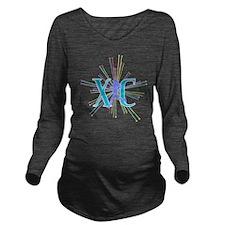XC Starburst Long Sleeve Maternity T-Shirt