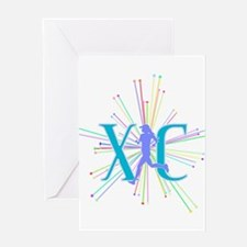XC Starburst Greeting Cards
