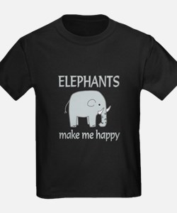 Elephant Happy T