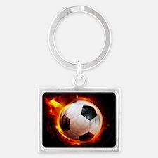 Hot Soccer Ball Keychains