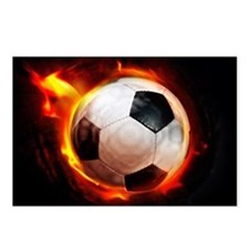 Hot Soccer Ball Postcards (Package of 8)