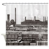 Industrial Shower Curtains