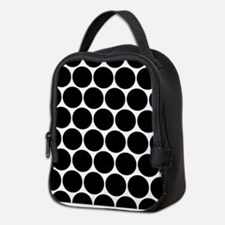 Cute Polka dot Neoprene Lunch Bag