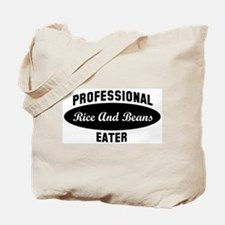Pro Rice And Beans eater Tote Bag
