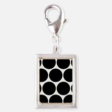 Black And White Polka Dotted Charms