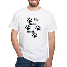 2-Big Dogs Rule Transp T-Shirt
