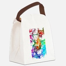 Cool Backdrop Canvas Lunch Bag