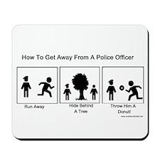 Escape The Cops Mousepad