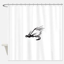 Fly Fish Shower Curtain