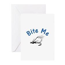 Bite Me Greeting Cards