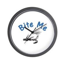 Bite Me Wall Clock