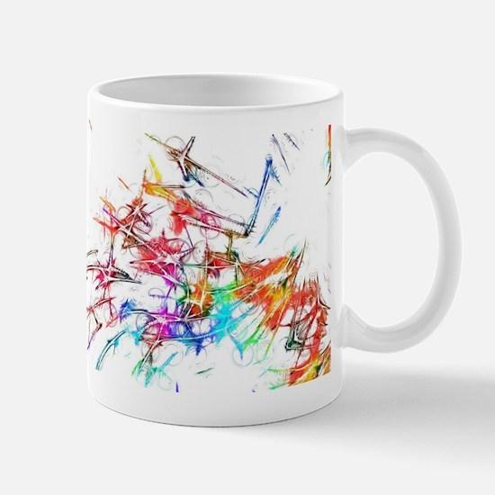 Abstract Art Mugs