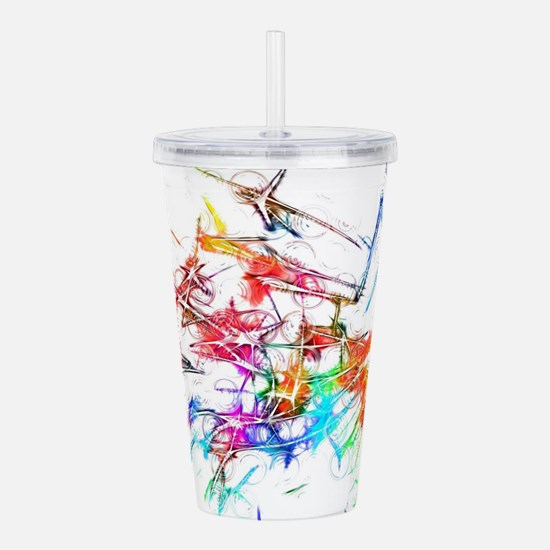 Funny Color image Acrylic Double-wall Tumbler