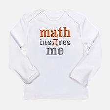 Math Inspires Me Long Sleeve Infant T-Shirt