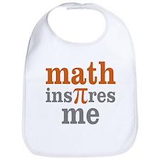 Math Inspires Me Bib