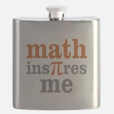Math Inspires Me Flask