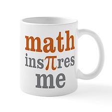 Math Inspires Me Mug