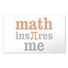Math Inspires Me Decal