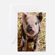 Unique Year of the boar Greeting Card