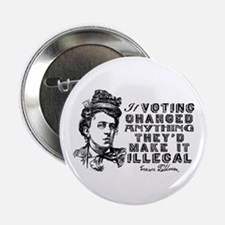 "Emma Goldman On Voting 2.25"" Button"