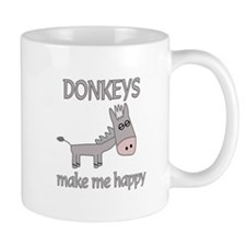 Donkey Happy Mug