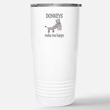 Donkey Happy Travel Mug