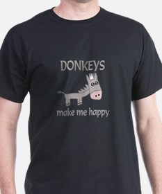 Donkey Happy T-Shirt