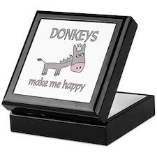 Donkey Happy Keepsake Box